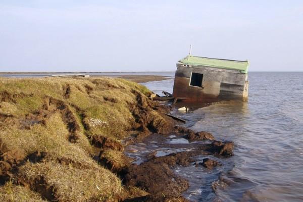 Beach Erosion, Alaska